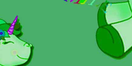 Creaciones Gaspar S.L. -  unicornio verde