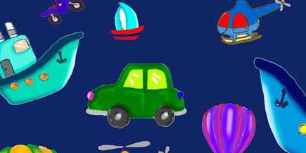 Creaciones Gaspar S.L. -  coches azulon