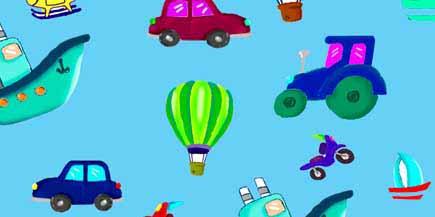 Creaciones Gaspar S.L. -  coches celeste